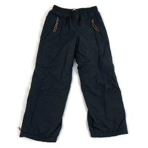 Patagonia Solid Black Kids Snow Pants Size 8